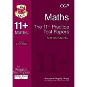 The 11+ Maths Practice Test Papers: Multiple Choice - Pack 1 (for GL & Other Test Providers) by CGP Books