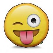 Almofada Emoji Língua para Fora Emoticon