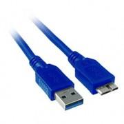ENTER-WEB Cordon USB3.0 Type A vers Micro USB3.0 type B 3M Bleu
