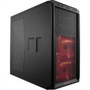 Carcasa Graphite 230T Windowed, MiddleTower, Fara sursa, Negru