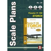 Scale Plans No. 28: Fieseler Fi 156 Storch by Dariusz Karnas