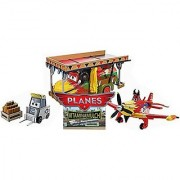 Disney Planes Vitaminamulch Air Spectacular Gift Pack Featuring Airdevil Jones Dusty Air Spectacular Chug & Sparky