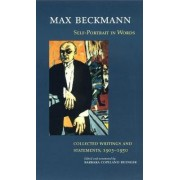 Self-portrait in Words by Max Beckman