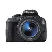 Canon EOS 100D + 18-55mm IS STM + 55-250mm STM 18MP CMOS 5184 x 3456Pixels Nero