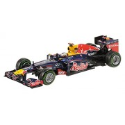 Minichamps 410120101 - 1:43 2012 Red Bull Racing Renault RB8 S. Vettel, Brazil GP World Champion