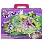 Hasbro Furry Frenzies Diversión en la gran ciudad - Circuito de juguete para Furry Frenzies
