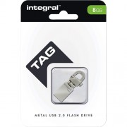 Stick USB 8GB Tag Drive Gri Integral