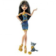 Monster High Ghoul's Beast Pet Cleo De Nile Doll