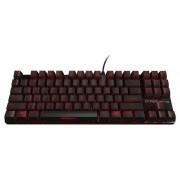 Ozone Strike Battle UK Cherry MX Red engleză tastatură (negru/roșu)