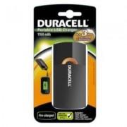 Incarcator acumulatori portabil Duracell USB 1150mAh Negru