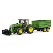 Bruder 3055 John Deere 7930 with Front Loader and Tipping Trailer