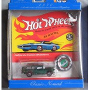 Hot Wheels 30th Anniversary 1970 Authentic Commemorative Replica Limited Edition California Custom Miniatures Classic Nomad GREEN 1:64 Scale by Hot Wheels