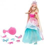 "Barbie Dreamtopia Endless Hair Kingdom 17"" Doll - Blonde"