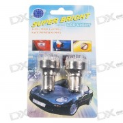 12-LED de luces de los vehiculos de cola amarilla (12V 2-Pack)