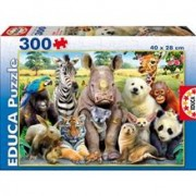 Puzzle Animale 300 Piese