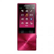 Sony NW-A25 - Walkman con sonido de alta resolución Hi-Res Audio (cancelación de ruido, Bluetooth, NFC, LDAC, 16 GB, hasta 50 horas de batería), rosa