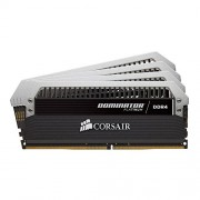 Corsair CMD64GX4M4A2666C15 Dominator Platinum Memoria per Desktop di Livello Enthusiast da 64 GB (4x16 GB), DDR4, 2666 MHz, CL15, con Supporto XMP 2.0, Nero