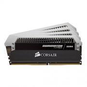 Corsair CMD16GX4M4B3600C18 Dominator Platinum Memoria per Desktop di Livello Enthusiast da 16 GB (4x4 GB), DDR4, 3600 MHz, CL18, con Supporto XMP 2.0, Nero