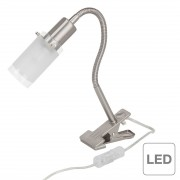 energie A++, Klemlamp Giorgia - 1 lichtbron, Brilliant