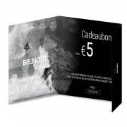 Brunotti Giftcard 5 Euro Uni