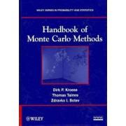 Handbook of Monte Carlo Methods by Dirk P. Kroese