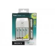 Sony Power + 4db CEB AA/2100mAh + 2db CEB AAA/800mAh akkumulátor töltő