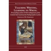 Teaching Writing, Learning to Write by P. R. Robinson