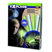 Explore 25032 - Barrette al neon, 2 colori