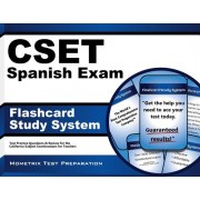 Cset Spanish Exam Flashcard Study System: Cset Test Practice Questions and Review for the California Subject Examinations for Teachers