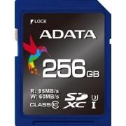 Card de memorie A-DATA Premier Pro, SDXC, UHS-I, 256 GB