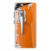 Noise Designer Printed Case / Cover for Panasonic P55 Novo / Patterns & Ethnic / Orange Lock