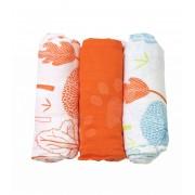 toTs-smarTrike feşe pentru bebeluşi din bambus copaci 170103 portocaliu