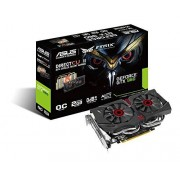 Asus GeForce GTX 960 Scheda Video da 2 GB GDDR5, PCI-E, Dual Link DVI-I, HDMI, 3 x Display Port STRIX OC Edition Direct CU II