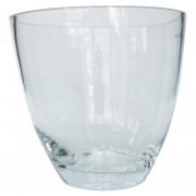 Florero polaco bocca Vidrio Transparente