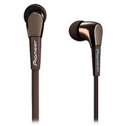 Pioneer Quality Audio Performance In Ear Lightweight Metal In Ear Headphone Brown (SE-CL722T-T)