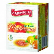 Ristora MARAVIGLIA MEDITERRANEI Ceai Fructe mediterane 15plic