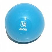 Medicine Ball para Exercícios - Soft Ball - 3 Kg
