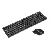Kit tastatura si mouse Ibox Sauros Pro Wireless + Mouse optic Black