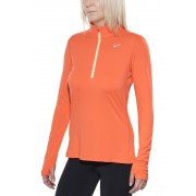 Nike Element Half-Zip - T-shirt course à pied - orange M T-Shirts Running