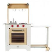Hape - E3126 - Jeu d'Imitation en Bois - Cuisine - Cuisine du Chef