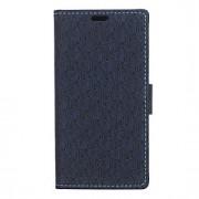 mönster plånbok PU läder fallet täcker med stativ och kortplats för HTC One x9 (blandade färger)