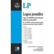 Legea Pensiilor Act. 3 Februarie 2015