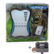 Girafus Pro-track-tor Pet Safety Tracker RF Technology Dog and Cat Tracker Finder Locator Very Light &Small only 4.2gr-1 TAG