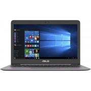 """Ultrabook™ ASUS ZenBook UX310UA-FC045T (Procesor Intel® Core™ i5-6200U (3M Cache, up to 2.80 GHz), Skylake, 13.3""""FHD, 8GB, 500GB + 128GB M.2 SSD, Intel HD Graphics 520, Wireless AC, Tastatura iluminata, Win10 Home 64, Argintiu)"""