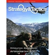 DG: Strategy & Tactics Magazine #276 with Operation Anaconda, Afghanistan 2002, Board Game by DG Decison Games