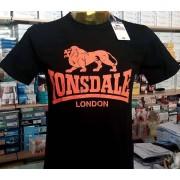 Lonsdale T-shirt uomo Lonsdale manica corta girocollo con stampa logo