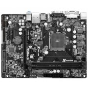 ASRock AM1B-MDH, AMD AM1, DualDDR3-1600, 2x SATA3, HDMI, DVI, DVI, D-Sub, mATX