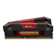 Corsair CMY16GX3M2C1600C9R Vengeance PRO 1Kit di Memoria da 6 GB, 2x8 GB DDR3L Low Voltage, 1600 MHz, CL9 XMP Performance, Rosso