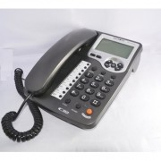 Microtel Phone MCT-86CID with jumbo LCD display 9 one touch memory 24 ringtone