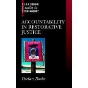 Accountability in Restorative Justice by Declan Roche